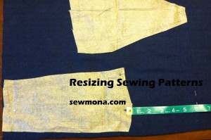 Resizing Sewing Patterns